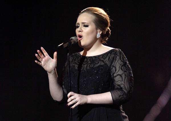 Adele - Grammys 2012