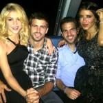 Shakira y Pique desmienten rumores con una foto