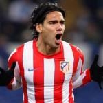 Falcao marcó 5 goles en la victoria del Atlético de Madrid