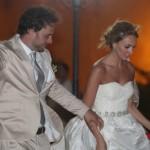 Manolo Cardona se casó con Valeria Santos