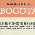 Calidad y Costo de Vida de Bogotá